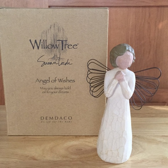 "Willow Tree Other - Willow Tree ""Angel of Wishes"" Susan Lordi 2000"